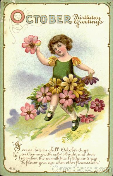 October Birthday Ecards ~ October birthday greetings months