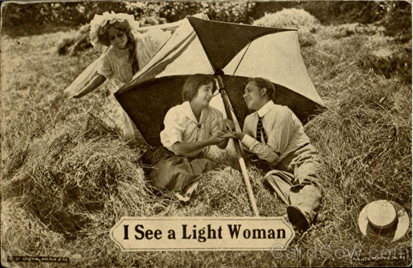 I See A Light Woman Romance & Love