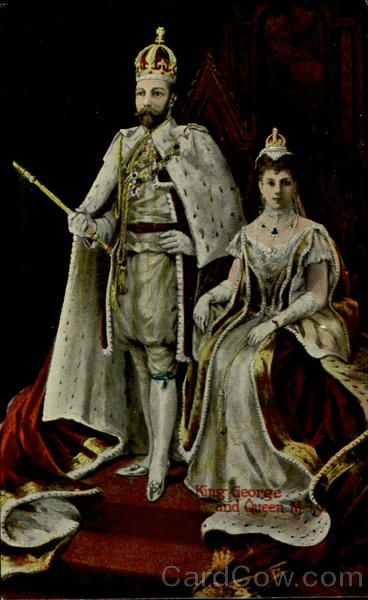 King George And Queen Mary Royalty