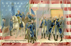 Washington Taking Command Of The Army
