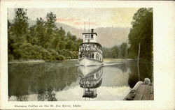 Steamer Colfax On The St. Joe River