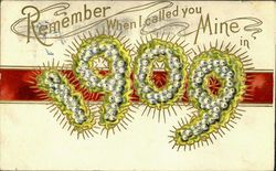 Remember When I Called You Mine In 1909 Postcard