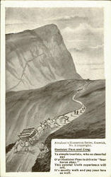 Honister Pass And Crag Postcard
