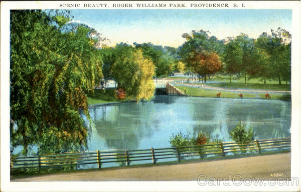 Scenic Beauty, Roger Williams Park Providence Rhode Island
