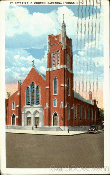 St. Peter's R. C. Church Saratoga Springs New York