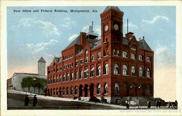 Post Office And Federal Building Montgomery Alabama