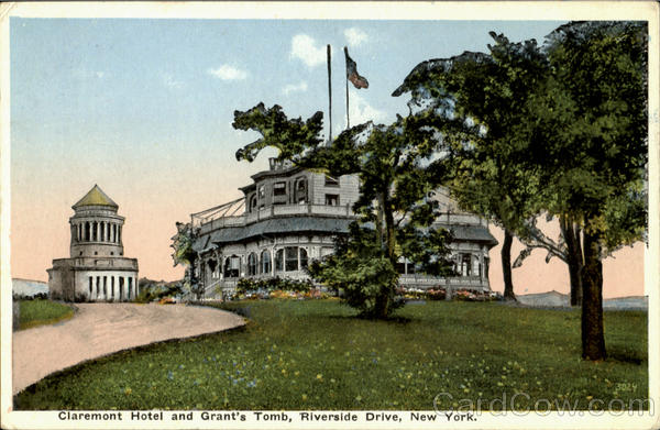 Claremont Hotel And Grant's Tomb Riverside Drive New York