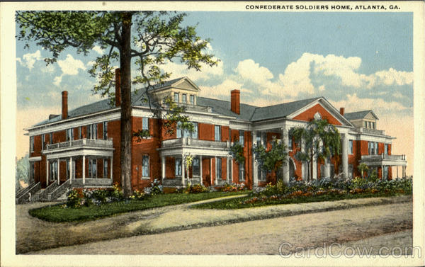 Confederate Soldiers Home Atlanta Georgia