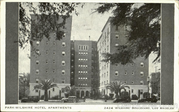 Park Wilshire Hotel Apartments, 2424 Wilshire Boulevard Los Angeles California