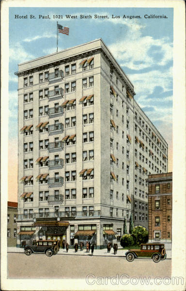 Hotel St. Paul, 1021 West Sixth Street Los Angeles California