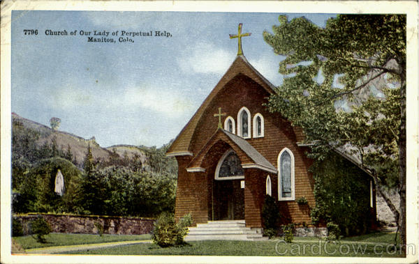 Church Of Our Lady Of Perpetual Help Manitou Colorado