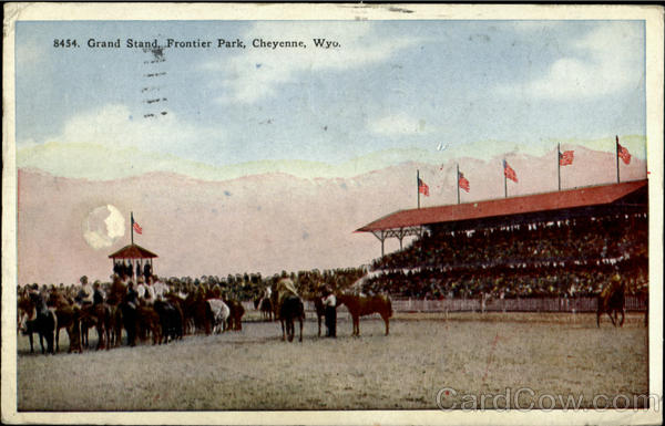 Grand Stand, Frontier Park Cheyenne Wyoming