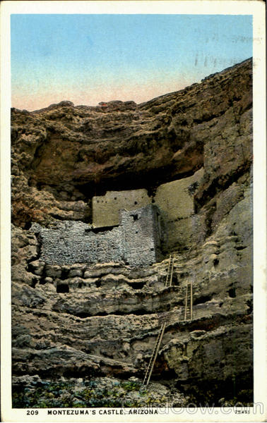 Montezuma S Castle Prescott Az