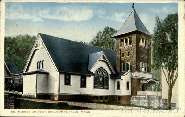 Methodist Church Shelburne Falls Massachusetts