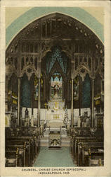 Chancel Christ Church Postcard