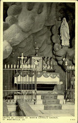 Grotte De Lourdes St. Martin Catholic Church