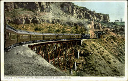 California Limited Crossing Johnson's Canyon