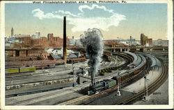 West Philadelphia Station And Yards