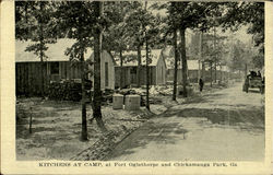 Kitchens At Camp, Chickamauga Park