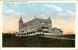 Bay Of Napels Hotel Postcard