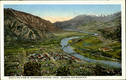 Bird's Eye View Of Glenwood Springs