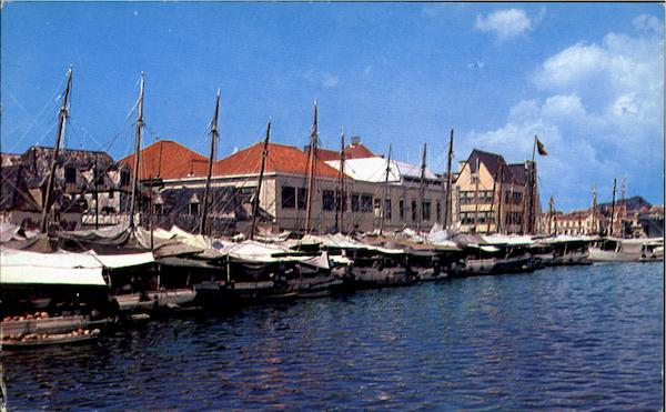 Floating Market Curacao Caribbean Islands