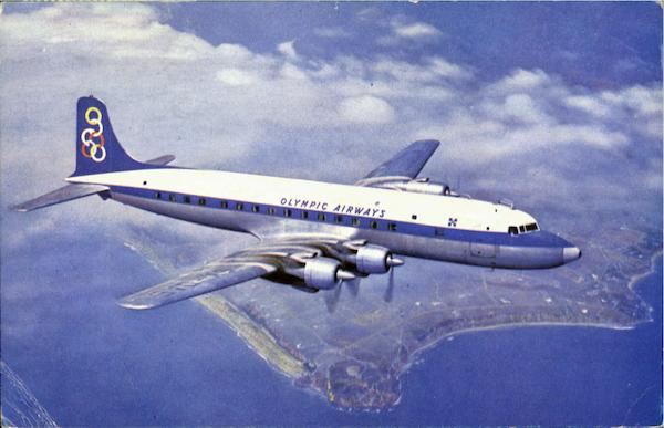 Olympic Airways Super DC-6B Aircraft