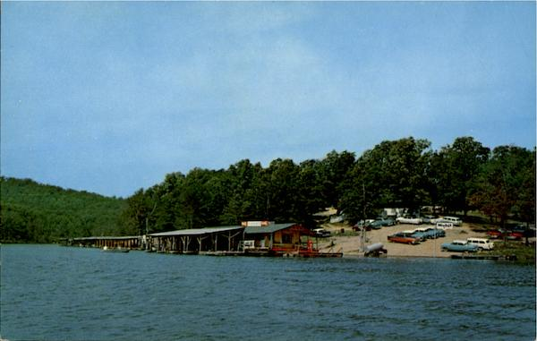 Panther Bay Boat Dock Lake Norfork Arkansas