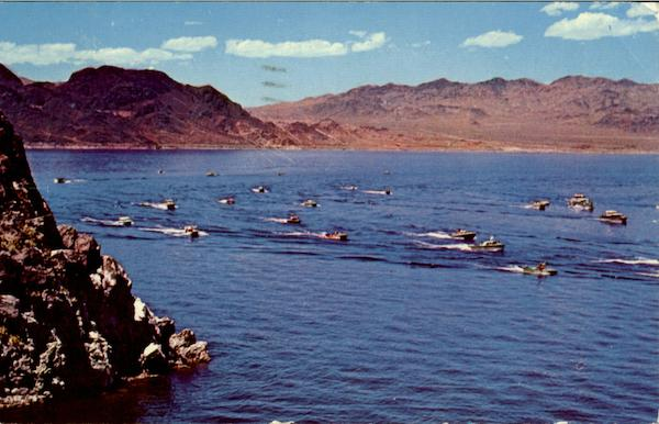 Boat Races On Lake Mead Nevada