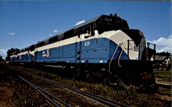 Great Northern Ry Trains, Railroad