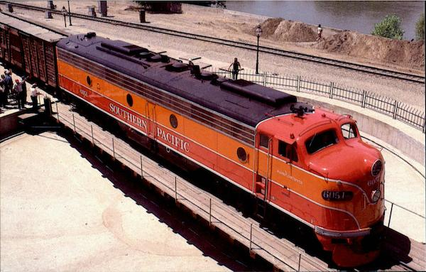 Southern Pacific E-9A Trains, Railroad