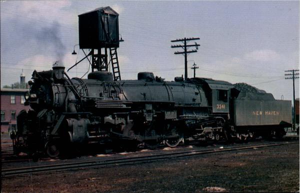 The Hartford Login >> New Haven & Hartford Railroad's Locomotive Number 3341 New ...