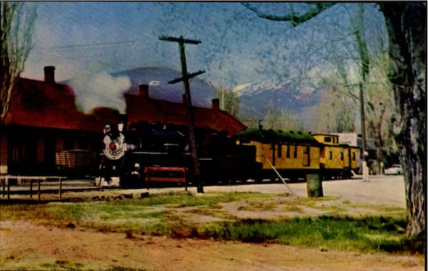 Virginia and Truckee Railroad Trains, Railroad