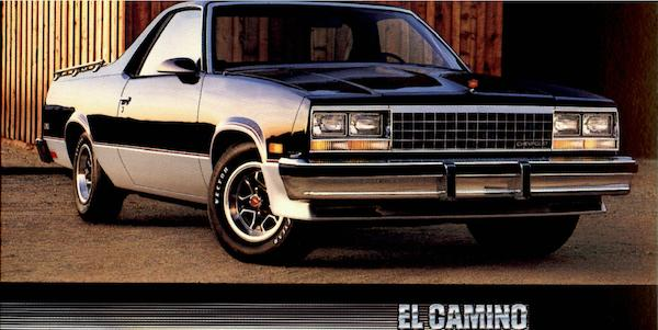 Chevy El Camino Cars