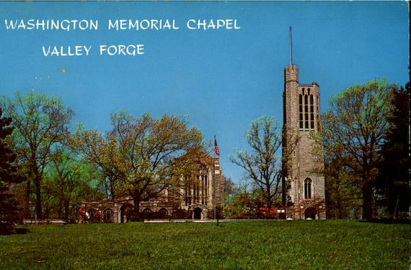 Washington Memorial Chapel Valley Forge Valley Forge Park Pennsylvania