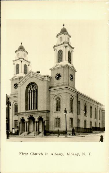 First Church In Albany New York
