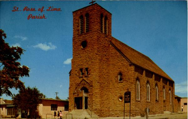 St. Rose Of Lima Parish Santa Rosa New Mexico