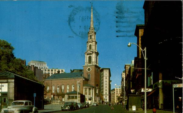 Park Street Church Boston Massachusetts