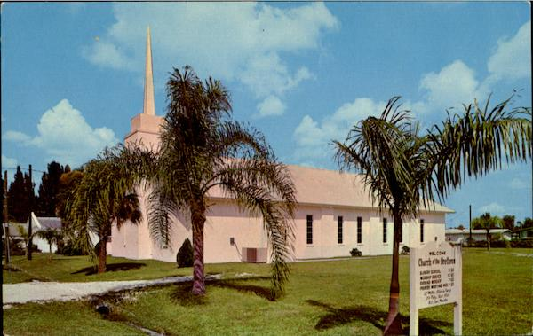 Church Of The Brethren, 1691 Pacific Avenue North Fort Myers Florida