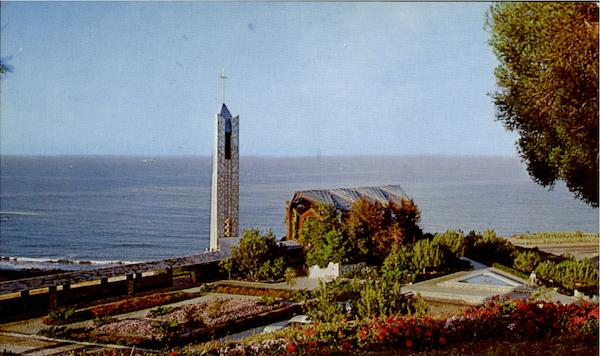 The Wayfarers Chapel Portuguese bend California