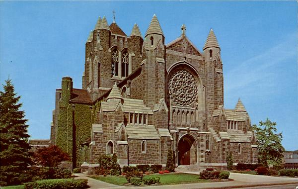 The Cathedral Of The Blessed Sacrament Greenburg Pennsylvania