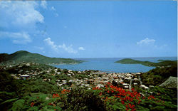 General View Of Charlotte Amalie