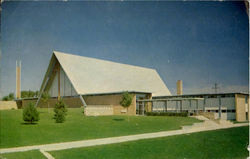 First United Methodist Church, 601 Veda Drive Postcard
