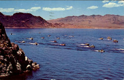 Boat Races On Lake Mead