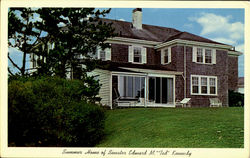 Summer Home Of Senator Edward M. Ted Kennedy