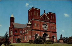 St. Vincent Arch Abbey Church, St. Vincent College Postcard