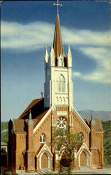 Exterior Beautiful St. Mary's In The Mountains Postcard