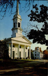 First Parish In Sherborn And Town Hall