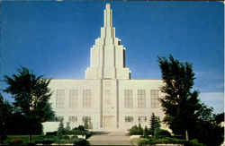 Latter Day Saints Temple Postcard