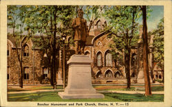 Beecher Monument And Park Church
